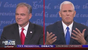 Kaine attacks, Pence fights back in vigorous VP debate