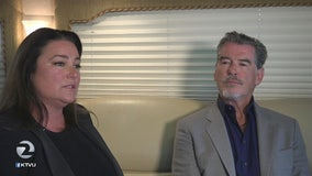 Pierce Brosnan and wife Keely premiere doc at Mendocino Film Fest