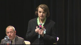 Senator Dianne Feinstein holds town hall meeting in San Francisco