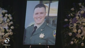 Service held for Marin County sheriff's deputy killed in crash