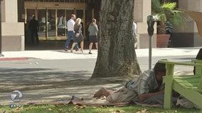 San Jose's homeless reside next to tourists