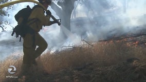 Lake County brush fire 50% contained