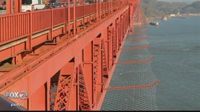 Golden Gate Bridge suicide barrier to be completed by 2021