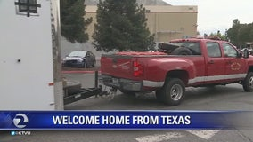 Bay Area rescue team deployed to Texas returns