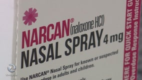 Police use Narcan nasal spray to save heroin user's life