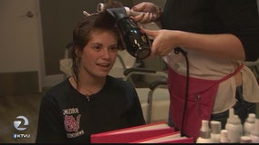 Memorable day at SF salon for teens with cancer
