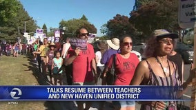 14-day New Haven teachers' strike suspended, tentative agreement reached