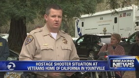 3 hostages taken, shots fired at Yountville Veterans Home