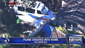 Small plane crashes in San Mateo County