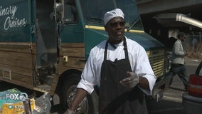 Chef Pat feeds Oakland homeless after losing restaurant in fire