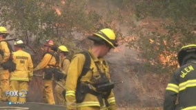 CAL Fire taking no chances with Sonoma end of fire