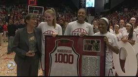 Stanford coach Tara VanDerveer joins elite 1,000 wins club
