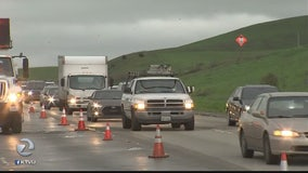 Right two lanes of I-50 to remain closed until 9 p.m.