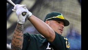 A's catcher Bruce Maxwell pleads guilty to disorderly conduct