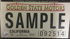 Bay Area lawmaker helps pass new statewide license plate law