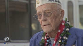 97-year-old Pearl Harbor veteran shares experience with Concord students
