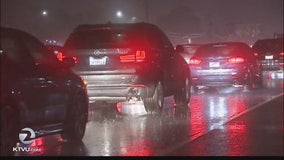 February's dry spell broken; widespread rain returns to Bay Area