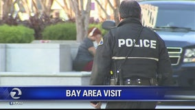 Obama visits Bay Area