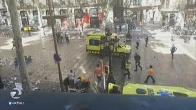 Barcelona van attack kills 13 in agonizing repeat for Europe
