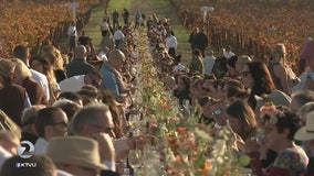 Celebrity Chef holds fundraiser dinner in Wine Country