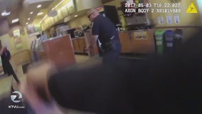 SFPD releases video from officer involved shooting inside Subway restaurant