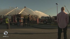 Fire breaks out at San Leandro's Alco Metals