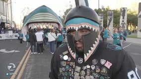 City of San Jose, fans hoping for long Sharks playoff run
