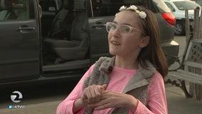 Mother & daughter receive special needs van in act of generosity