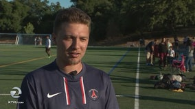 Former soccer captain diagnosed with ALS reunites with teammates in Martinez