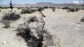 Ridgecrest earthquake damage assessment continues as Gov. Newsom visits area