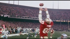 Dwight Clark Day at 49ers training camp commemorates player behind 'The Catch'