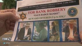 Authorities seeking 'Faux Badge Bandit'