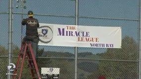 'Miracle League' field of dreams ballpark opens in Petaluma