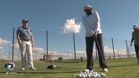 Veterans find therapy on an Oakland golf course