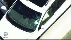 Debris through windshield kills 82-year-old driver on Hwy 101