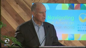 Gov. Brown takes on Trump over climate change