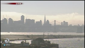 Fires impacting Bay Area air quality