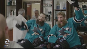 SJ Sharks like to play, have fun
