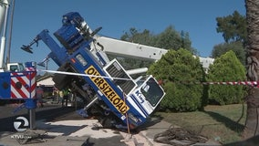 Cal-OSHA has 2 previous cases on crane company that collapsed into Campbell home