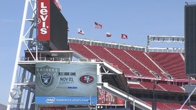 Extra security planned for 49ers, Raiders game at Levi's Stadium
