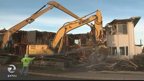 Pacifica apartments demolished