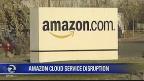 Amazon server outage affects websites