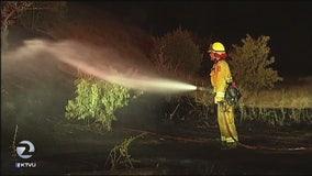 Arson spree in Antioch