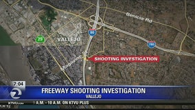 One wounded in freeway shooting on I-80 in Vallejo