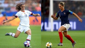 'This is what everybody wants': US faces France in Women's World Cup quarterfinals showdown