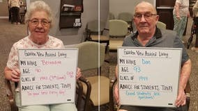 'Back to school' advice from Iowa senior citizens goes viral
