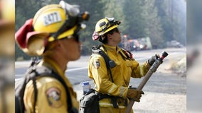 Fire burning at Annadel State Park in Santa Rosa contained