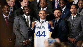 NBA champion Warriors snub Trump, meet with Obama during DC visit
