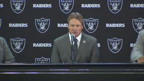 Raiders officially introduce Gruden as coach