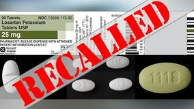 Blood pressure medication recall expanded after possible cancer causing impurity detected, says FDA